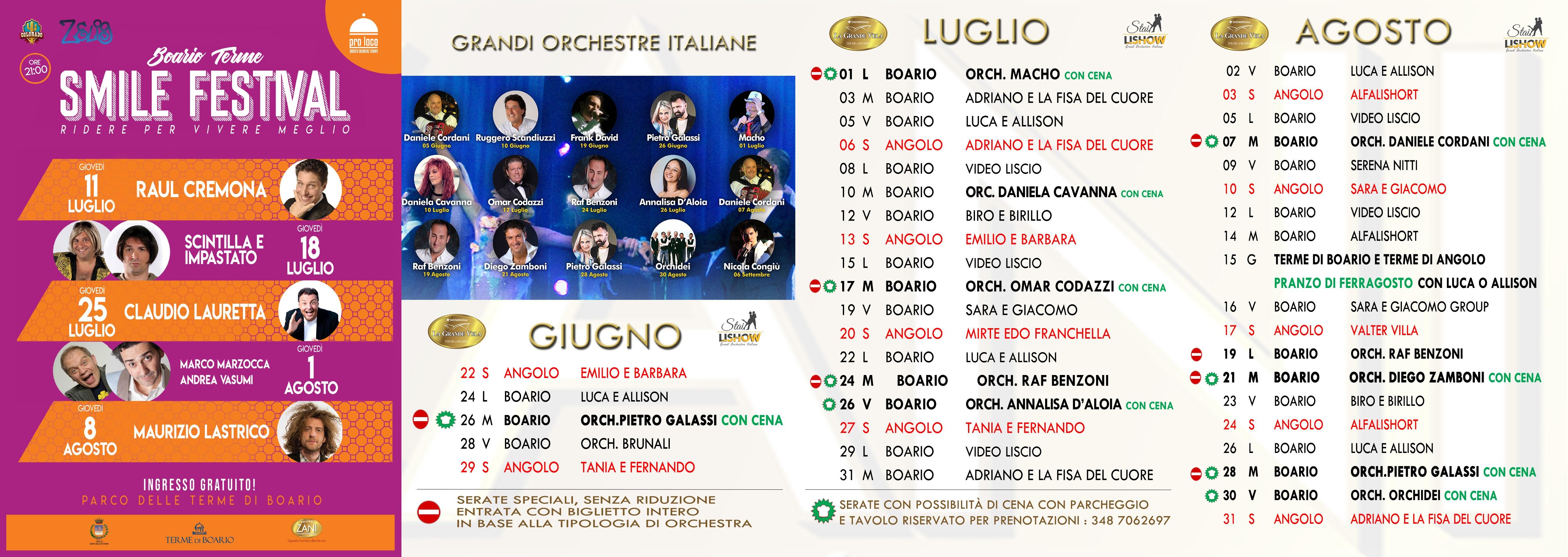Calendario Orchestre