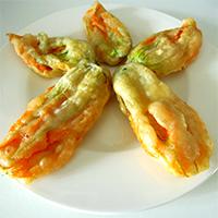 fiori di zucca fritti_gastronomia d asporto_zani catering
